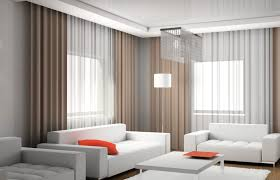 alluring modern living room curtains sheer curtain ideas for