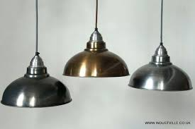silver pendant light shade new silver pendant light shade hanging ceiling pendant light silver