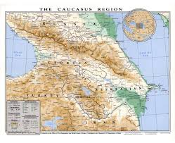 Asia Maps by Maps Of The Caucasus And Central Asia Caucasus And Central Asia