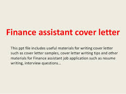 trend sample cover letter for finance assistant position 70 about