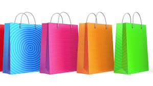 shopping bag stock footage