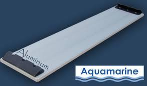 aluminum lightweight bench seat 12 u0027 boat aquamarine inflatable boats