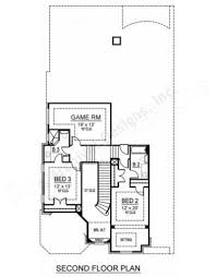 Narrow House Plans by Blackburn Narrow House Plans Luxury House Plans