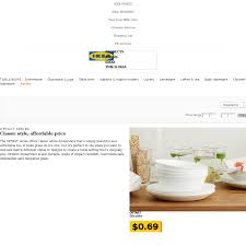 ikea family price oftast series plates deep plates bowls side plates 0 69 each