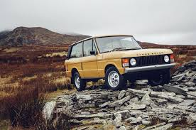 toyota land rover 1970 land rover will sell you a restored 1970s range rover for 169k