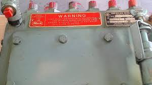 mack 673 injection pump youtube