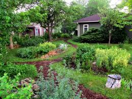 Retention Pond In Backyard Front Yard Rain Garden And Berm Midwest Permaculture