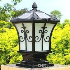 small outdoor post lights solar l post light medium size of lighting small solar lights