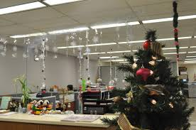 47 Elegant Christmas theme Office Decorating Ideas Stock