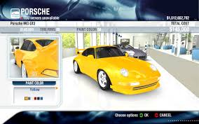 porsche yellow paint code mega tutorial add new cars slots in tdu page 8 turboduck forum