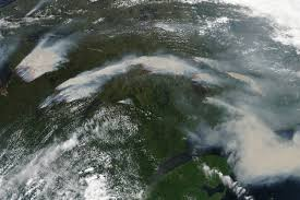 Canada Wildfires by Smoke And Wildfires In Quebec Natural Hazards