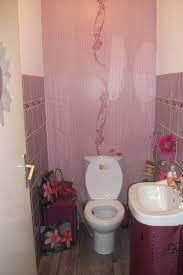 deco wc campagne décoration wc mauve