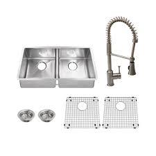 american standard pekoe kitchen faucet american standard pekoe all in one undermount stainless steel 35