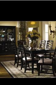 Best BLACK DINING SETS Images On Pinterest Dining Sets Black - Black wood dining room set