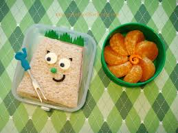 cute food for kids there is a monster in my lunch box