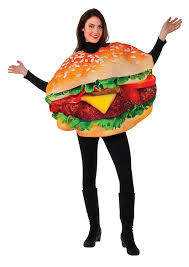 Egg Halloween Costume Amazon Rubie U0027s Men U0027s Burger Costume Multi Size Clothing