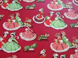 637 best vintage christmas wrapping paper images on pinterest