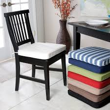 White Dining Chair Cushions Furniture Dining Chair Pads For Comfort Www Princessandtheprom Org