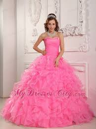 quinceanera dresses 2014 sweetheart organza beading pink quinceanera dress