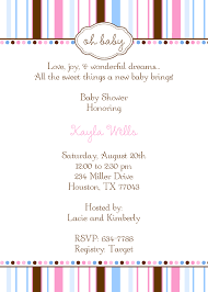 design baby shower invitation message