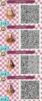 animal crossing new leaf qr code hairstyle animal crossing new leaf qr codes