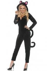 jumpsuit costume black cat jumpsuit costume purecostumes com