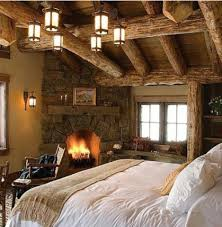 Log Home Bedrooms 50 Rustic Bedroom Decorating Ideas Cabin Bedrooms And Log Cabins