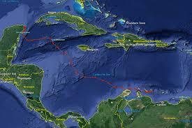 Map Curacao Little Curaçao Green Turtle Swims 3100 Km In 3 Weeks Marjolijn