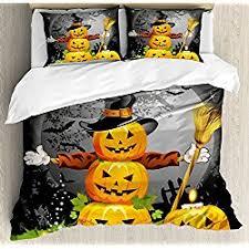 Funny Duvet Sets Halloween Decoration Inspiration Halloween Duvet Covers