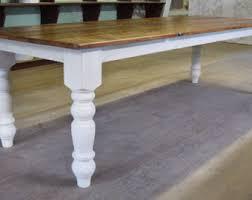 Handmade Kitchen Table Reclaimed Chestnut Kitchen Farm Table Handmade In Nc Custom