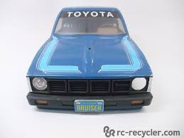 vintage toyota 4x4 vintage tamiya bruiser toyota 4x4 pick up 1 10 scale body 58048