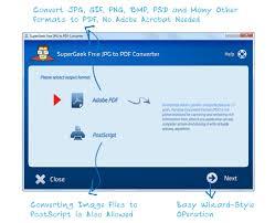 convertir imagenes jpg a pdf gratis supergeek software supergeek free jpg to pdf converter easy free