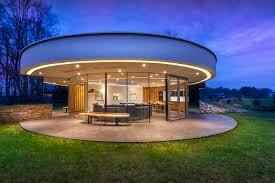 villa in the sky modern circular villa in the forest idesignarch interior