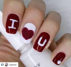 14 flirty and romantic valentine u0027s day nail art designs