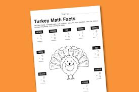 Free Thanksgiving Activity Sheets Free Printable Math Worksheets Sheets Fractions 5th Grade Free
