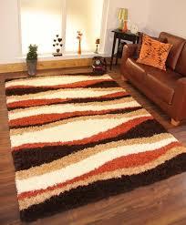 Orange Shag Rugs Amazing 40 Orange Shag Area Rugs Decorating Design Of Stella