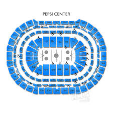 pepsi center floor plan pepsi center concerts seating chart and events schedule vivid seats