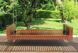 outdoor bench swing modern outdoor bench swing in comfortable