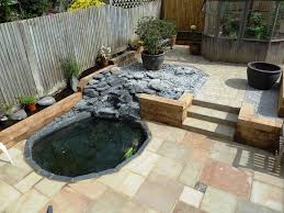 Gardens With Sleepers Ideas Garden Makeover Southwick Low Maintenance Garden With Paving And