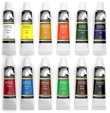 amazon com acrylic paint set artist quality paints for painting