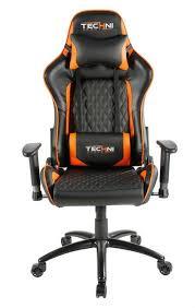 techni sport ergonomic high back gaming desk chair techni sport rta orange gaming chair chs chairs