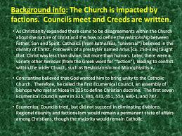 Ecumenical Councils Of The Catholic Church Definition Worshi P And Its Architectural Setting 4 G Reek E Ast And L Atin