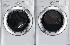 washer red lg front load washer and electric dryer set work