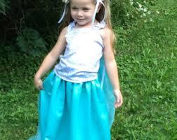 Elsa Halloween Costume Girls Queen Elsa Costume Etsy