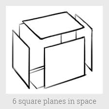 how to draw a cube from different angles linear perspective