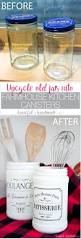 Canisters For The Kitchen by Farmhouse Kitchen Canister Diy A Houseful Of Handmade