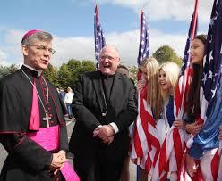 Cardinal Flag Cardinal Thanks Ireland For U201csteady Stream Of Priests