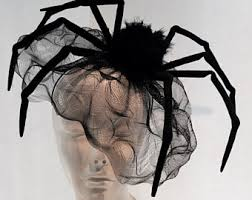 the original huge black widow spider halloween headpiece