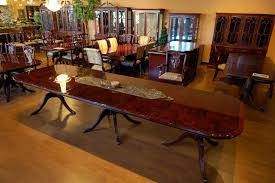 Buy Inch Sheraton Burl Top Mahogany Dining Table By MM - Mahogany kitchen table