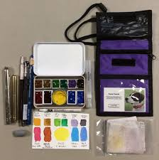 what u0027s in your watercolor travel kit wetcanvas